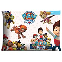 "16x24 16""x24"" 40x60cm car pillow cover case Cotton and Polyester Fabric Supreme PAW Patrol"