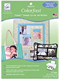 10-pack Colorfast White Printer Fabric