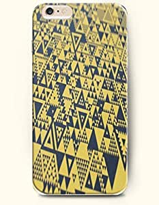 SevenArc Aztec Indian Chevron Zigzag Pattern Hard Case for Apple iPhone 6 Plus 5.5' (2014) ( Popular Yellow And Black...