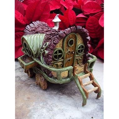 Fiddlehead Fairy Garden  Gypsy Wagon