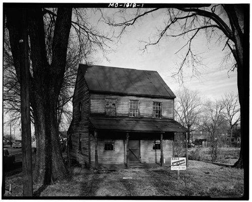 Photo: Frame House,1191 Saint Michael Street,Florissant,St. Louis - Saint Mo Louis For County