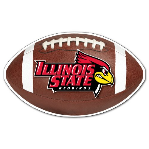 (VICTORYSTORE.COM Magnets - Illinois State University Football Shaped Magnet, Size 14
