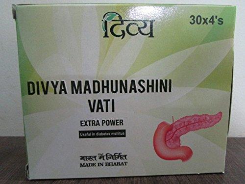 Patanjali Divya Madhunashini Vati Extra Power x 1 Pack (120 Tablets) - NEW  Improved Formula