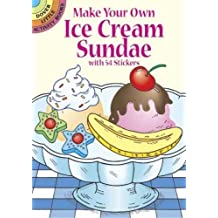 Make Your Own Ice Cream Sundae with 54 Stickers