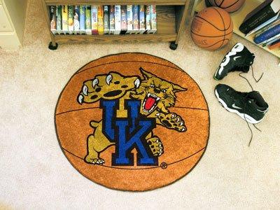 Fanmats Kentucky Wildcats Basketball-Shaped Mat