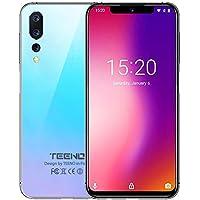 TEENO Moviles Libres 4G,6.2 Pulgadas Telefonos 3GB RAM+32GB ROM Azul