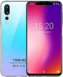 TEENO Moviles Libres 4G,6.2 Pulgadas Telefonos 3GB RAM+32GB ROM ...
