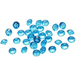 4.5mm pack of 10000pcs Acrylic Crystal Diamond For Vase Fillers, Party Table Scatter, Wedding, Photography, Party Decoration, Crafts DIY Project - turquoise