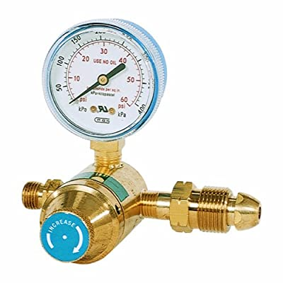 Goss EP-70G High Pressure Propane Regulator, LP CGA510 with Gauge B Hose