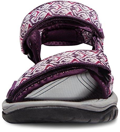 ATIKA AT-W111-MGT_Women 7 B(F) Women's Maya Trail Outdoor Water Shoes Sport Sandals W111 by ATIKA (Image #2)