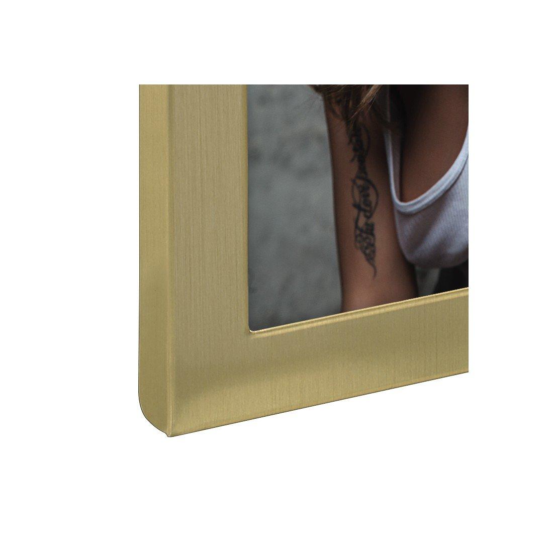 10 x 15 cm Hama Cadre photo m/étallique Davos pour portrait argent/é