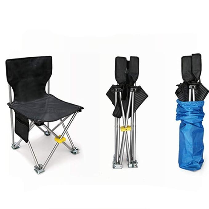 Rawall Silla de Camping Silla Plegable portátil Ligero ...