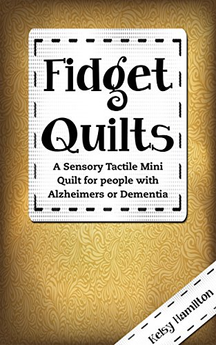 Amazon fidget quilts a sensory tactile mini quilt for people fidget quilts a sensory tactile mini quilt for people with alzheimers or dementia by fandeluxe Image collections