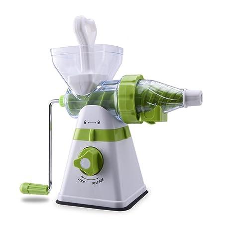 Vaso de Jugo de exprimidor Manual Juicer Portable Multi-función Jugo de Fruta Máquina Juicer
