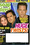 Soap Opera Digest April 20 2010 All My Children - End of Zach & Kendall, The Young and the Restless - Adam Really Dead? Salute to Ugly Betty, Jack and Victor Feud, David Canary, Rick Hearst/Bold and Beautiful Interview, Writers' Plans for Pine Valley
