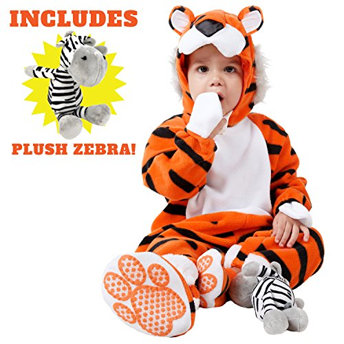 Safari Costume Easy (Spooktacular Creations Deluxe Baby Tiger Costume Set (18-24 months))