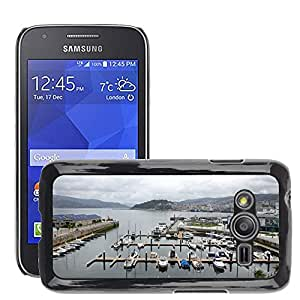 Hot Style Cell Phone PC Hard Case Cover // M00171552 Vigo Vigo City Ria Boats Shore // Samsung Galaxy Ace4 / Galaxy Ace 4 LTE / SM-G313F