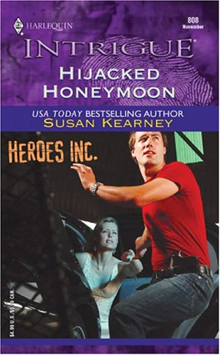 book cover of Hijacked Honeymoon