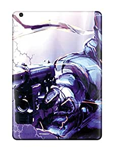 New Style Marie K Floyd Metal Gear Premium Tpu Cover Case For Ipad Air
