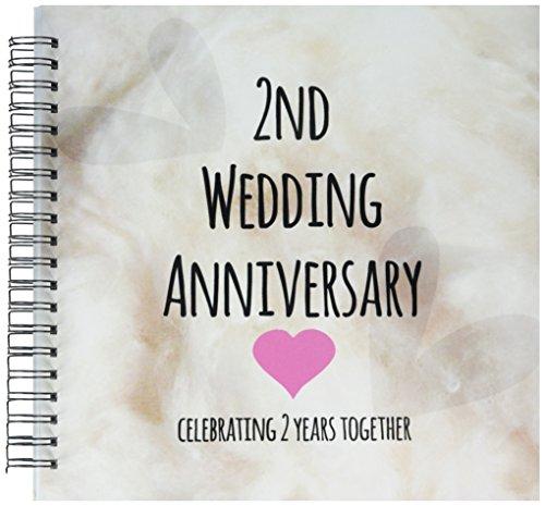 3dRose db 154429 2 Anniversary Together Second Anniversaries