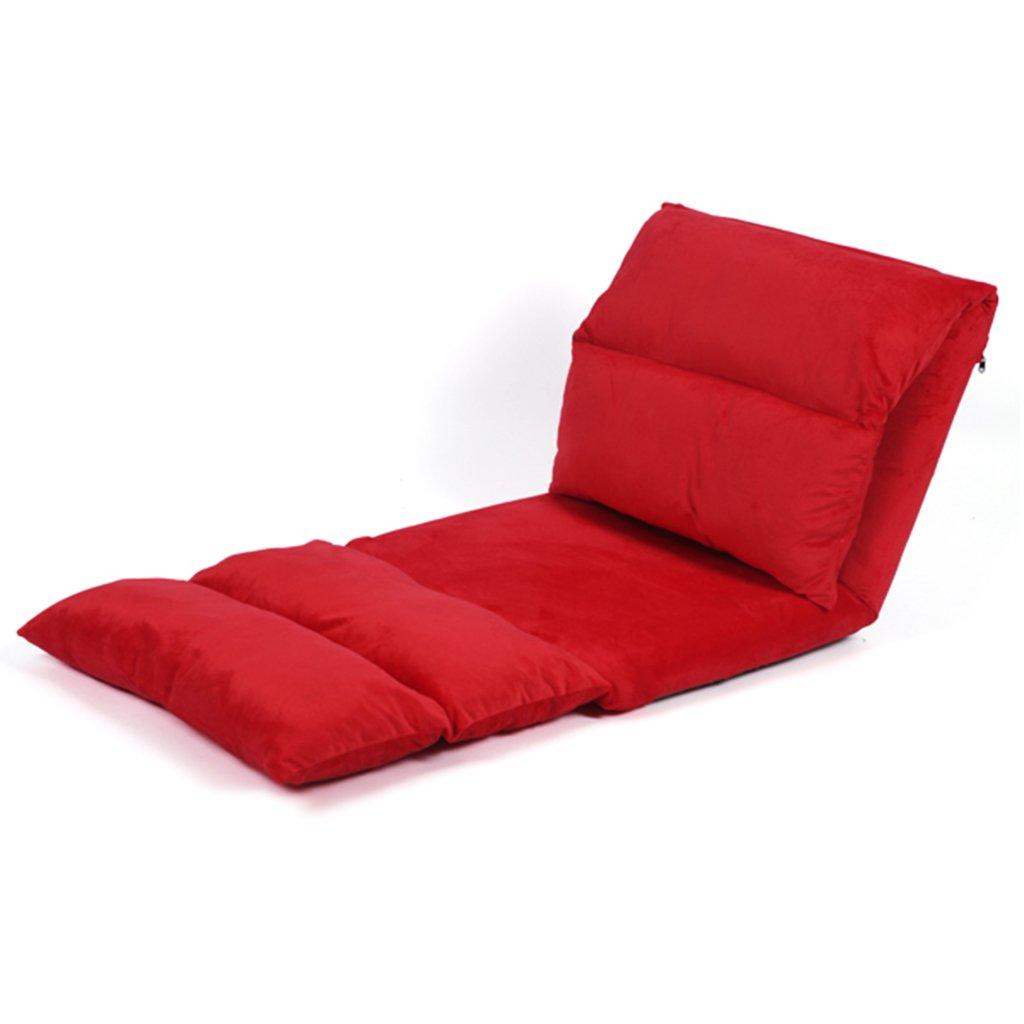 JH Tatami Faule Couch faltender Klubsessel Klappstuhl Länger waschbarer Klubsessel Stuhl des Japanischen Artgewebes, Anpassung mit 5 Geschwindigkeiten, Kann Mehr als 200KG Halten