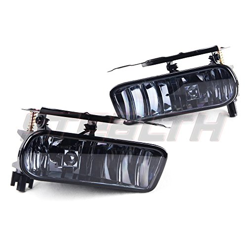 STEALTH STF0387-S 02 06 Cadillac Escalade Fog Light OEM FIT Smoke Lens