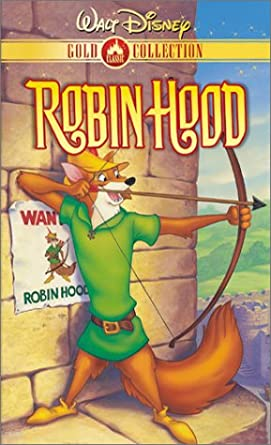 Amazon Com Robin Hood Disney Vhs Brian Bedford Phil Harris