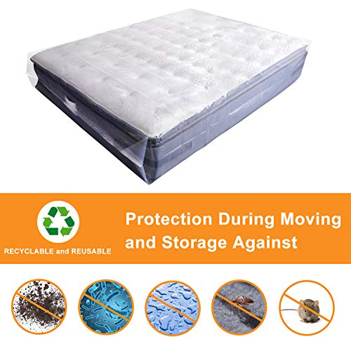2-Pack Mattress Bag for Moving, Mattress Storage Bag, 5 ...