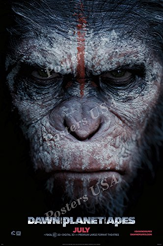"""Posters USA - Dawn of the Planet of the Apes Movie Poster GLOSSY FINISH - MOV637 (24"""" x 36"""" (61cm x 91.5cm))"""