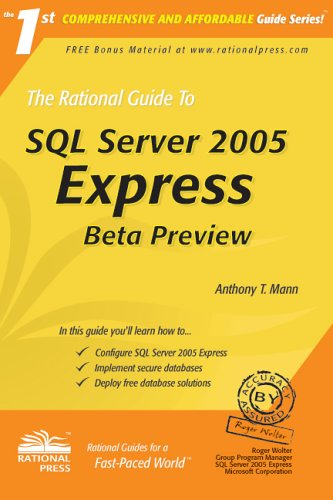 Download The Rational Guide to SQL Server 2005 Express: Beta Preview (Rational Guides) pdf