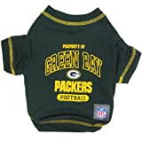 Pets First NFL Green Bay Packers T-Shirt, Medium, My Pet Supplies