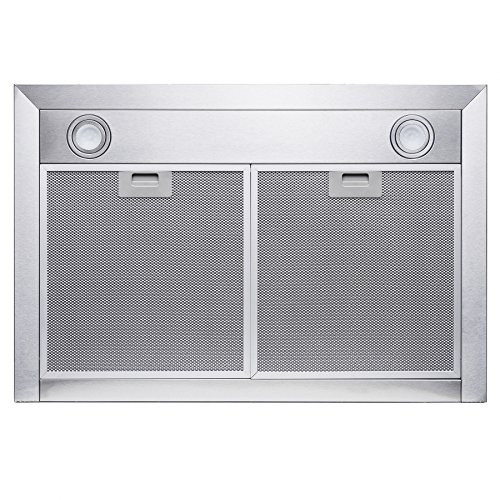 Golden Vantage 30'' Wall Mount Stainless Steel Touch Control Kitchen Range Hood Cooking Fan w/ Mesh Filter by Golden Vantage (Image #4)