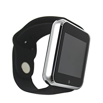 Amazon.com: Yeaom-G10 Bluetooth Smartwatch Smart Wristband for Android/iOS Support SIM/TF Card with Camera Black: Cell Phones & Accessories