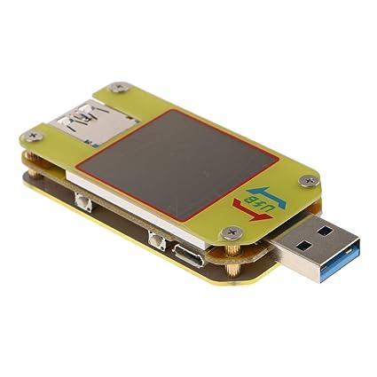 B blesiya USB Voltaje de contador de consumo/Contador de teléfono móvil pilas Capacidad Tester
