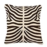 Brown Pillow | Eichholtz Zebra