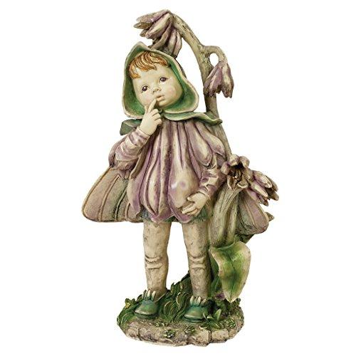 Design Toscano Ella the Littlest Flower Fairy Statue