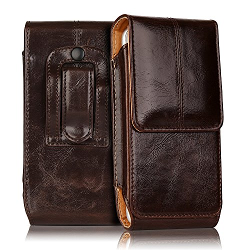 iNNEXT Leather Vertical Carrying Magnetic