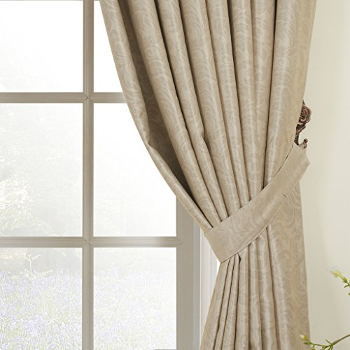 IYUEGO Elegant Embossed Blackout Thermal Rod Pocket Curtain Drapes With Multi Size Custom 84″ W x 84″ L (One Panel) Review