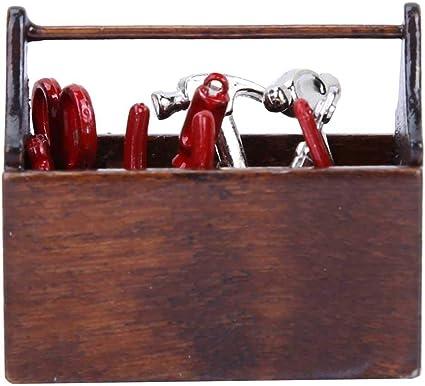 Melody Jane Dollhouse Chess Set with Light Oak Storage Drawer Miniature Study