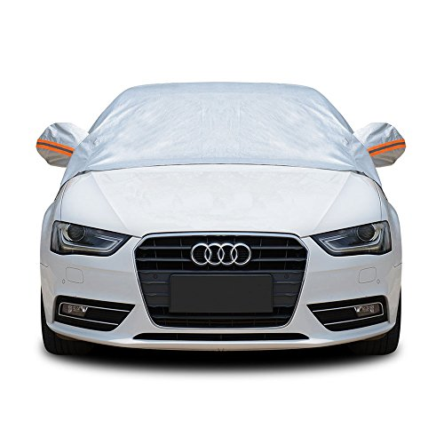 Tofern Half Size Waterproof Car Cover Top Winter Summer Car Cover - Hatchback - M