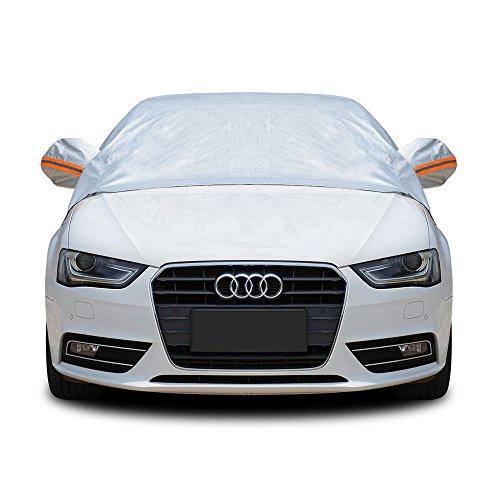 Classic Half Cover - Tofern Half Size Waterproof Car Cover Top Winter Summer Car Cover - Sedan - L
