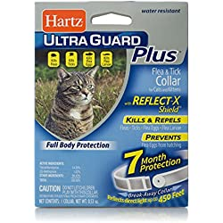 HARTZ UltraGuard Plus 7 Month Protection Reflective Flea & Tick Collar for Cats and Kittens