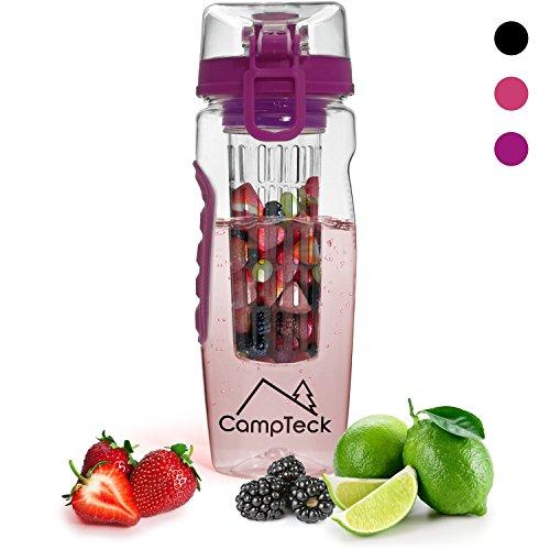 CampTeck 1000ml Infuser Bottle Plastic product image