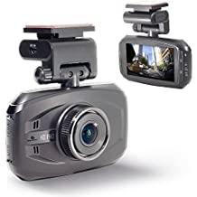 WheelWitness HD PRO Dash Cam with GPS - 2K Super HD - 170° Lens - 16GB microSD - Advanced Driver Assistance - For 12V Cars & Trucks - Night Vision Dashboard Camera Ambarella A7LA50 Car Security DVR