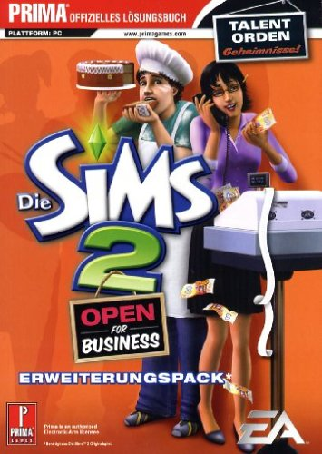 Die Sims 2 - Open For Business, Lösungsbuch