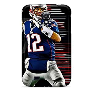 Ultra Slim Fit Hard Anne Marie Harrison Case Cover Specially Made For Galaxy S4- New England Patriots Schedule