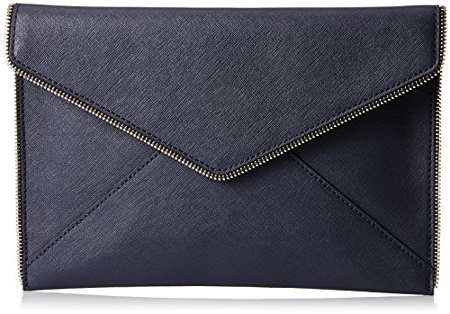 Rebecca Minkoff Leo Clutch Midnight One Size