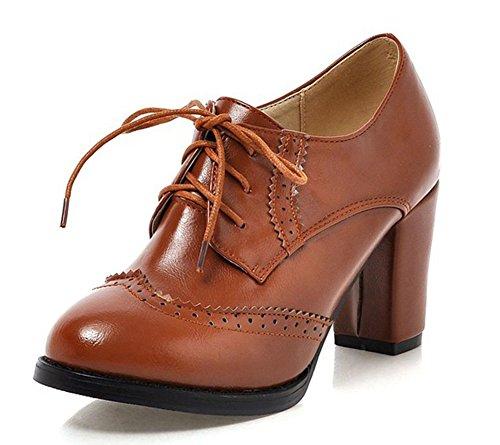 Sexy High Heeled Oxford Shoe - 6