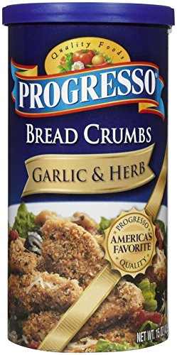 Progresso Bread Crumbs - Garlic & Herb - 15 oz