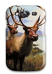 Hot Defender Case For Galaxy S3, Elk Pattern
